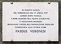 15, Via Mazzanti, Verona, lapide.jpg