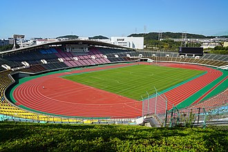 1997 Recopa Sudamericana - Image: 151017 Kobe Universiade Memorial Stadium Kobe Japan 02n