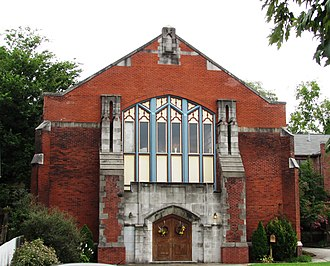 Fort Sanders, Knoxville - Christ Chapel, formerly the Epworth Methodist Church