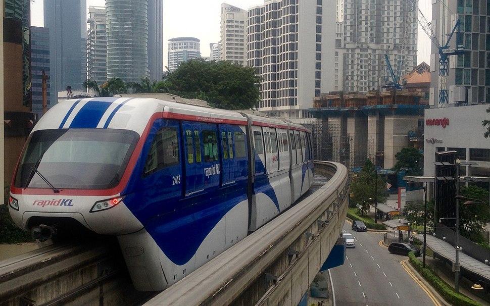 160316 KL Monorail leaving Raja Chulan station.jpeg