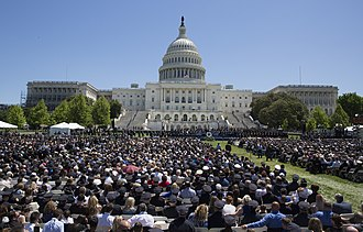 Peace Officers Memorial Day - National Peace Officers' Memorial Service in Washington, D.C., May 15, 2017