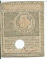 1780 Colonial Massachusetts Bay $3 Spanish Milled Dollars May 5 - eBay - Reverse.jpg
