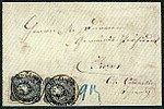 1875 20pfg pair DP PA Constantinopel Switzerland MiV34.jpg