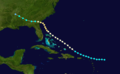 1881 Atlantic hurricane 5 track.png