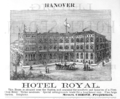 1885 Hotel Royal Hanover ad Harpers Handbook for Travellers in Europe.png