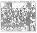 1909-03-03, Actualidades, Banquete a los autores de Margarita la Tornera, Cifuentes.jpg