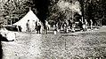 1922. Crew camp. Southern Oregon Northern California western pine beetle control project. (32793980643).jpg
