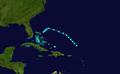 1931 Atlantic tropical storm 13 track.png