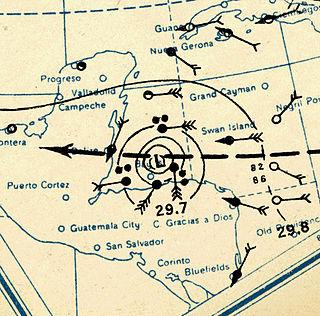 1931 British Honduras hurricane Category 4 Atlantic hurricane in 1931