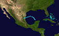 1936 Atlantic tropical storm 2 track.png