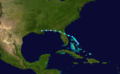 1936 Atlantic tropical storm 9 track.png