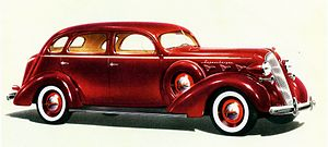 Graham-Paige - 1937 Graham Custom Series 120 Supercharger Four-door Sedan (advertisement)