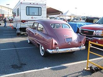 Henry J - 1951 Kaiser Henry J Rear View