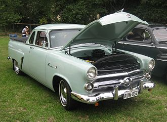 Ford Mainline - Image: 1952 Ford Mainline Coupe Utility