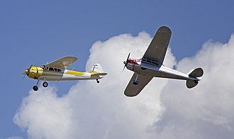 Cessna 195 - 1953 Cessna 195B and 1948 Cessna 190
