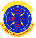 1958 Communications Sq emblem.png