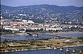 196R18180890 Donauturm, Blick vom Donauturm, Nordbahnbrücke, Donauinsel, Floridsdorferbrücke.jpg
