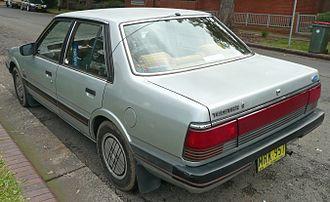 Ford Telstar - 1983–1985 Ford Telstar (AR) Ghia sedan