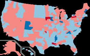 United States House of Representatives elections, 1986 - Image: 1986 House Election in the United States
