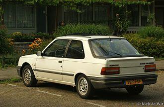 Peugeot 309 - Peugeot 309 XS Injection rear