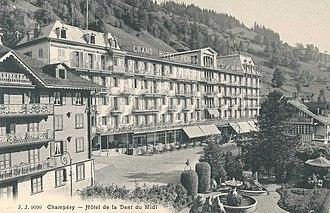 Champéry - Hôtel de la Dent-du-Midi