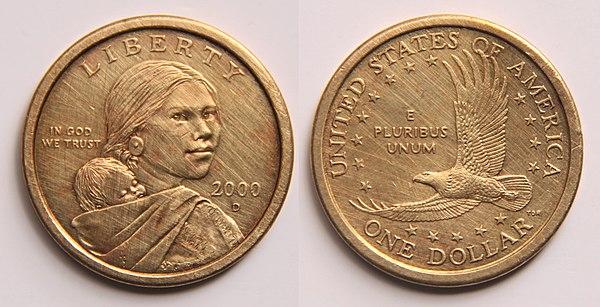 how much is a sacagawea dollar worth