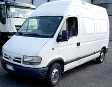 0242bc202f45b1 Nissan Interstar (1998–2003)