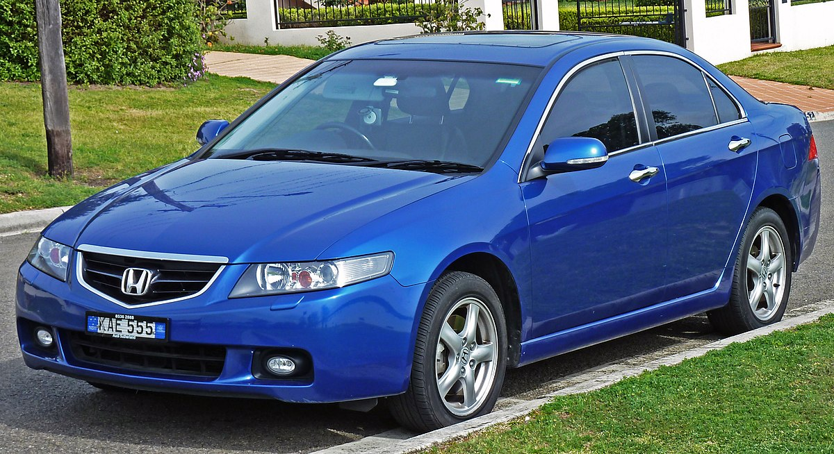 Honda Accord (7. generation) - Wikipedia, den frie encyklopædi