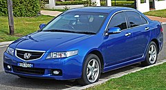 Honda Accord VII przed liftingiem