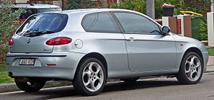 Alfa Romeo 147 - Pre facelift Alfa Romeo 147 Selespeed Twin Spark three door hatchback (Australia)