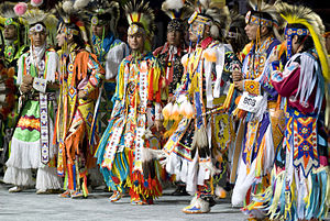 Grass dance - Grass dancers at the 2007 National Pow Wow