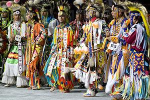 Grass dance - Grass dancers at the 2007 National Pow Wow