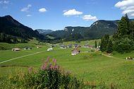Изглед от планината Брегенцервалд