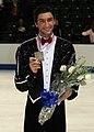 2008 Skate America Men Lysacek05.jpg