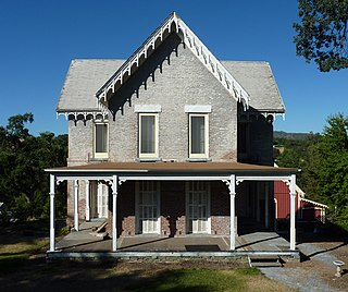 Thorn House (San Andreas, California) place in San Andreas, California, listed on National Register of Historic Places