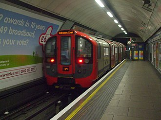 Victoria line - Image: 2009 stock at Euston