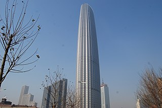 Tianjin World Financial Center Skyscraper