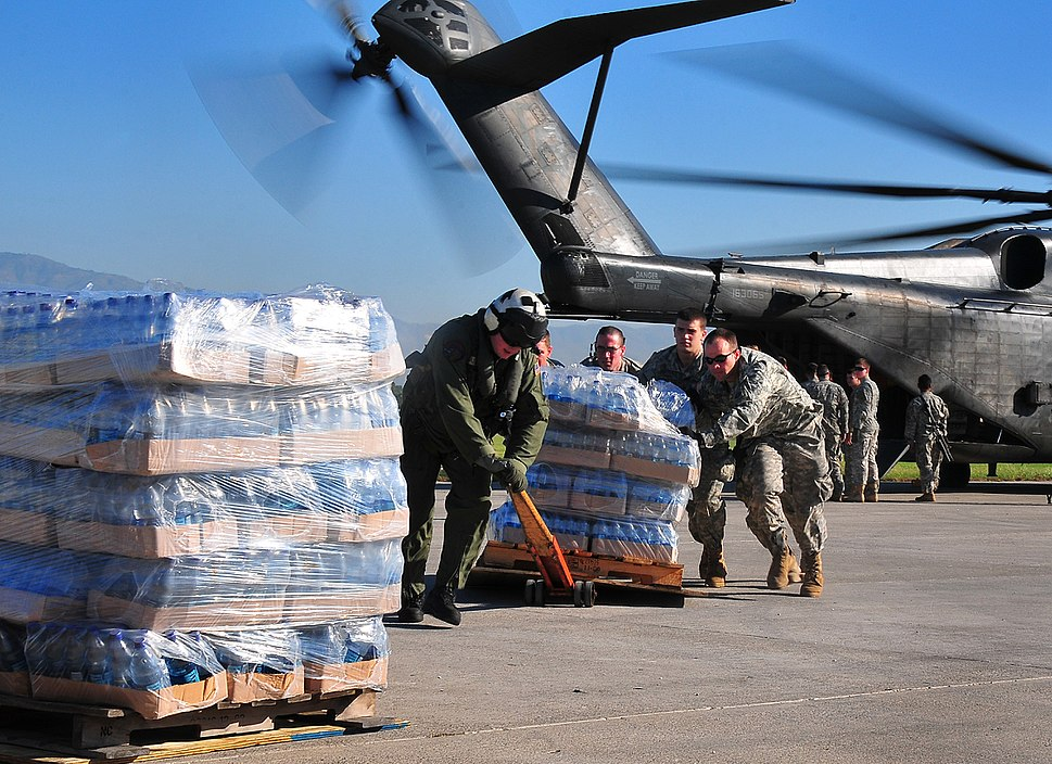 2010 Haiti earthquake relief efforts by the US Army