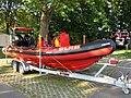2011-09-25 Bonn DLRG Rettungsboot Cassius 01.JPG