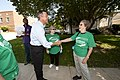 20110913-governor votes and has lunch with mayor rawlings blake-jb (6165632139).jpg