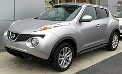 2011 Nissan Juke SL (US)
