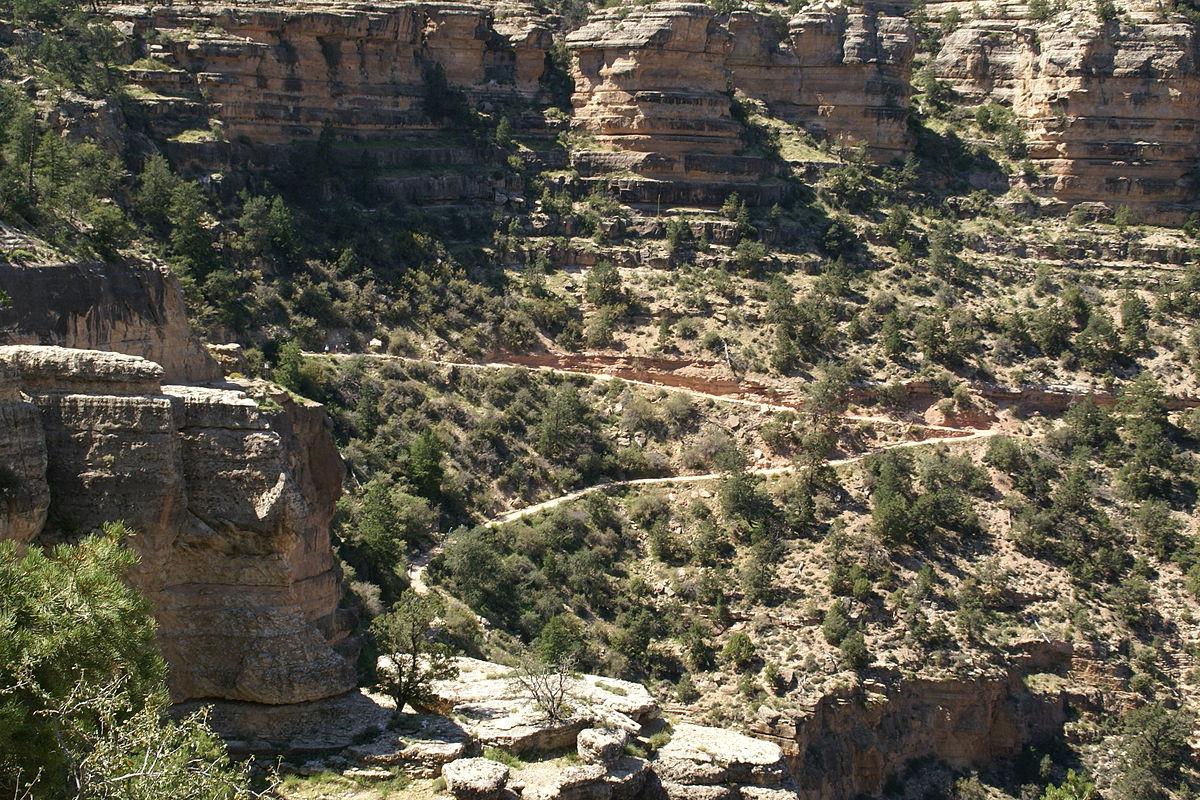 Grand Canyon Village >> Bright Angel Trail – Wikipedia