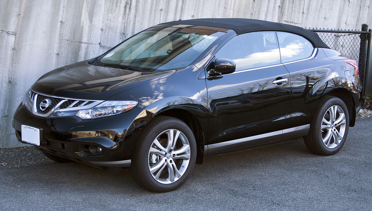 File:2012 Nissan Murano CrossCabriolet top up.jpg ...