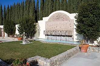 Cesar Chavez - The grave of César Chávez is located in the garden of the Cesar E. Chavez National Monument in Keene, California.