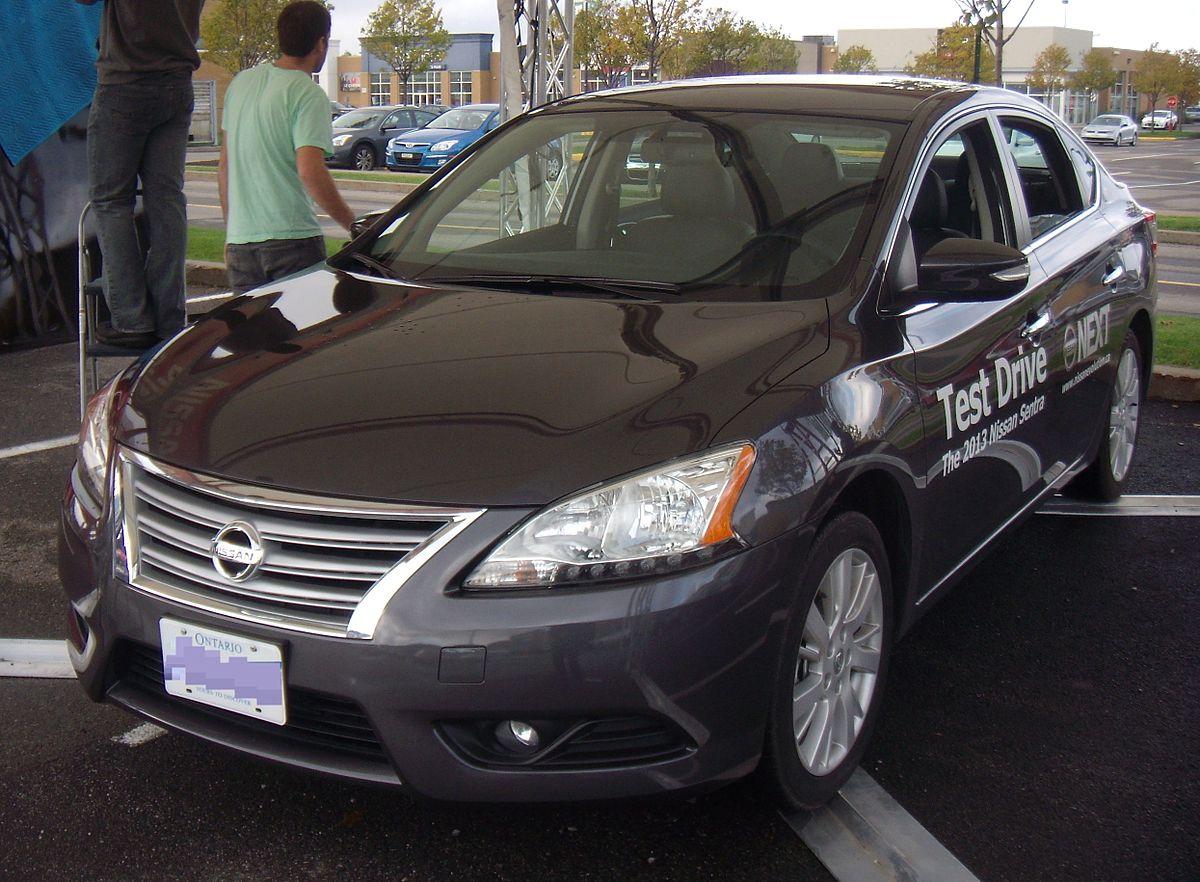 Nissan Sentra Википедия