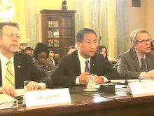 """""""Assessing the Risks, Impacts and Solutions for Space Threats""""; testimony before a U.S. Senate Subcommittee on Science & Space, March 2013[42] (video)"""