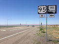 2014-07-06 13 30 54 View north along U.S. Route 95 about 33.0 miles north of the junction with Interstate 80 at the junction with Nevada State Route 140 in Humboldt County, Nevada.JPG