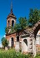 20140612 Церковь Благовещения в селе Марьино. Ограда и колокольня.jpg