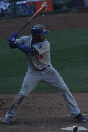 Hanley Ramírez - Ramírez with the Dodgers