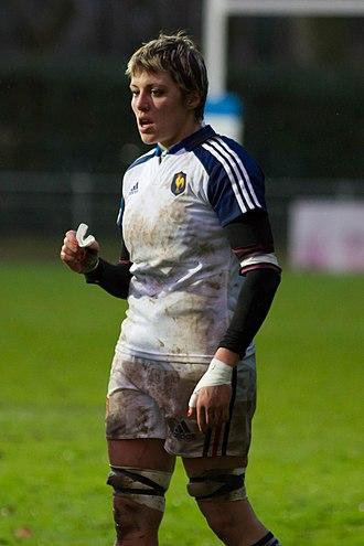 Laëtitia Grand - Image: 2014 Women's Six Nations Championship France Italy (79)